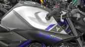 Yamaha MT-03 fuel tank at Thai Motor Expo