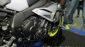 Yamaha MT-10 engine at Thai Motor Expo
