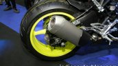 Yamaha MT-10 rear wheel at Thai Motor Expo