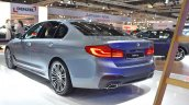 2017 BMW 5 Series (BMW 530d xDrive) at 2017 Vienna Auto Show rear three quarters left side