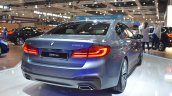 2017 BMW 5 Series (BMW 530d xDrive) at 2017 Vienna Auto Show rear three quarters