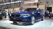 2017 BMW 5 Series (BMW 540i xDrive) at 2017 Vienna Auto Show front three quarters