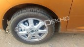 2017 Chevrolet Beat wheel spy shot
