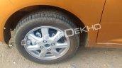 2017 Chevrolet Beat wheel spy shot