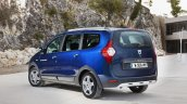 2017 Dacia Lodgy Stepway rear three quarter introduced