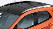2017 Ford EcoSport Platinum Edition black roof