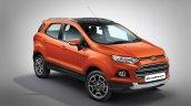 2017 Ford EcoSport Platinum Edition front three quarters
