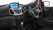 2017 Ford EcoSport Platinum Edition interior