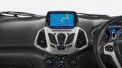 2017 Ford EcoSport Platinum Edition satellite navigation