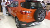 2017 Ford Ecosport Platinum rear three quarter at APS 2017