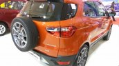 2017 Ford Ecosport Platinum rear three quarters at APS 2017