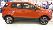 2017 Ford Ecosport Platinum side at APS 2017