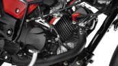 2017 Hero Glamour carburetted 110 cc engine
