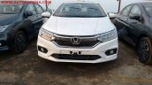 2017 Honda City ZX (facelift) front spied India