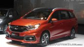 2017 Honda Mobilio RS front three quarters Indonesia launch