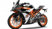 2017 KTM RC390 front three quarter left