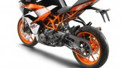 2017 KTM RC390 rear three quarter