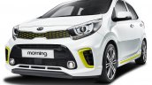 2017 Kia Morning (2017 Kia Picanto) front three quarters left side