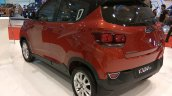 2017 Mahindra KUV100 anniversary edition dual tone rear three quarters
