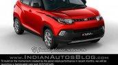 2017 Mahindra KUV100 anniversary edition interior and exterior