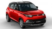 2017 Mahindra KUV100 dual tone