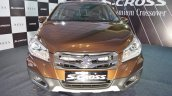 2017 Maruti S-Cross front at Surat International Auto Expo 2017