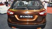 2017 Maruti S-Cross rear at Surat International Auto Expo 2017
