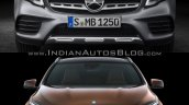 2017 Mercedes GLA vs. 2014 Mercedes GLA front