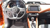 2017 Nissan Micra dashboard driver side at 2017 Vienna Auto Show