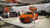 2017 Nissan Micra front three quarters left side at 2017 Vienna Auto Show