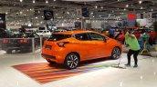 2017 Nissan Micra rear three quarters at 2017 Vienna Auto Show