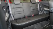 2017 Perodua Axia (facelift) rear seats