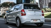 2017 Toyota Etios (Facelift) rear launched in Brazil
