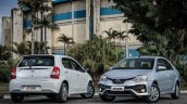 2017 Toyota Etios (Facelift) sedan and hatchback launched in Brazil