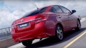 2017 Toyota Vios (facelift) rear end Thailand