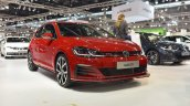 2017 VW Golf GTI (facelift) front three quarters at 2017 Vienna Auto Show