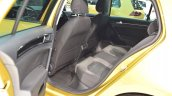 2017 VW Golf (facelift) rear seats at 2017 Vienna Auto Show