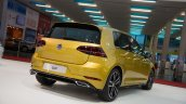 2017 VW Golf (facelift) rear three quarters at 2017 Vienna Auto Show