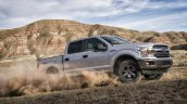 2018 Ford F-150 (facelift) off-roading front three quarters