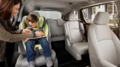 2018 Honda Odyssey rear seats unveiled