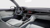Audi Q8 concept cabin debut