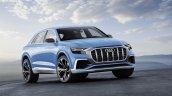 Audi Q8 concept front debut