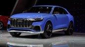 Audi Q8 concept front quarter debut