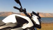 Baja Dominar 400 Moon white fuel tank