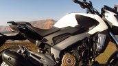 Bajaj Dominar 400 Moon White frame