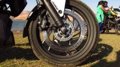 Bajaj Dominar 400 Moon White front wheel