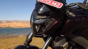 Bajaj Dominar 400 Twilight Plum headlight