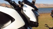 Bajaj Dominar 400 headlamp Moon White