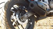 Bajaj Dominar 400 rear tyre