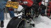 Bajaj Pulsar 200NS modified tyre rim